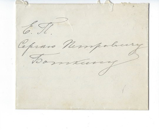 Grand Duchess Olga Feodorovna: An autographed letter - 3