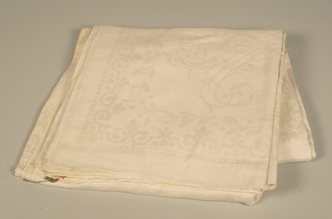 Grand Duke Pavel Alexandrovich: A Damask Tablecloth