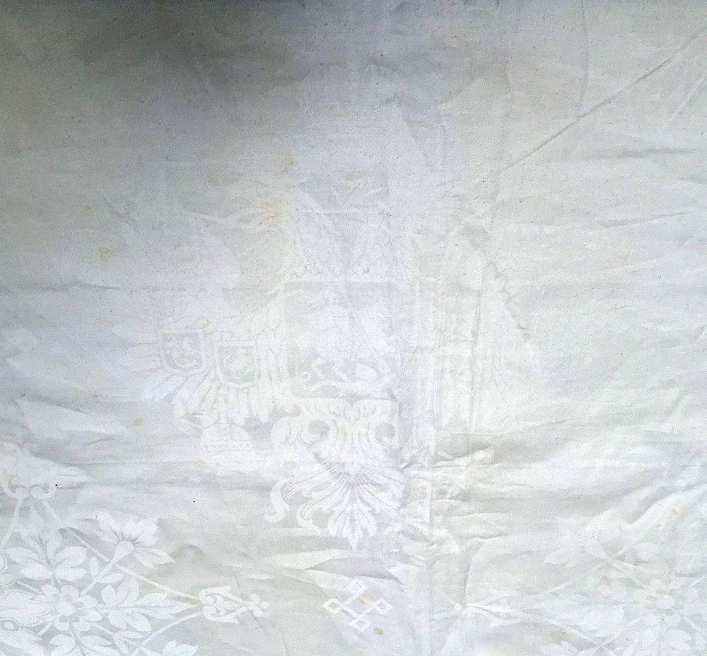 Grand Duke Pavel Alexandrovich: A Damask Tablecloth - 2