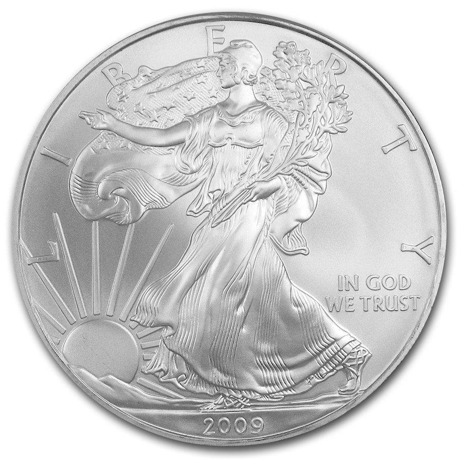 2009 Silver Eagle Bullion Coin