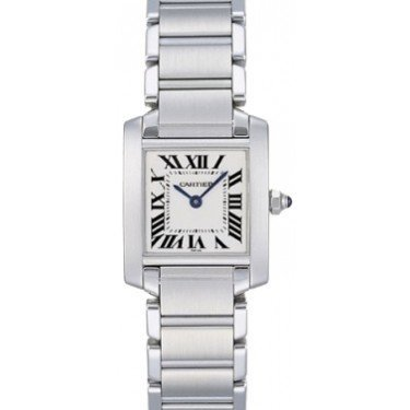 Preowned Cartier Tank Francaise Stainless Steel with