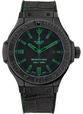 Hublot Big Bang Blk Green Mens Watch 322.CI.1190.GR.ABG