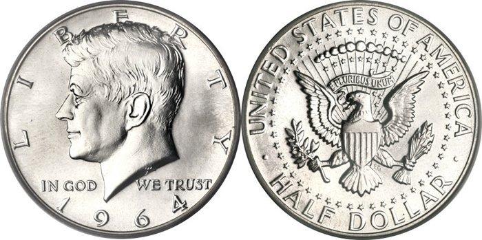 """90% Silver ½ Dollar """"Kennedy Half Dollar"""""""