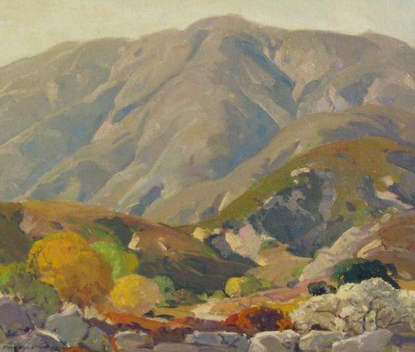 8: FREDERICK BECKER  OIL (Amer 1888-1974)