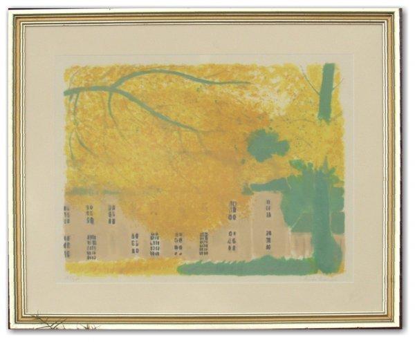 21: ANDRE BRASILIER S/N LITHO (French 1929-2004)