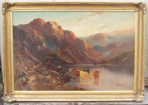 23: ALFRED DE BREANSKI OIL (British 1852-1928)