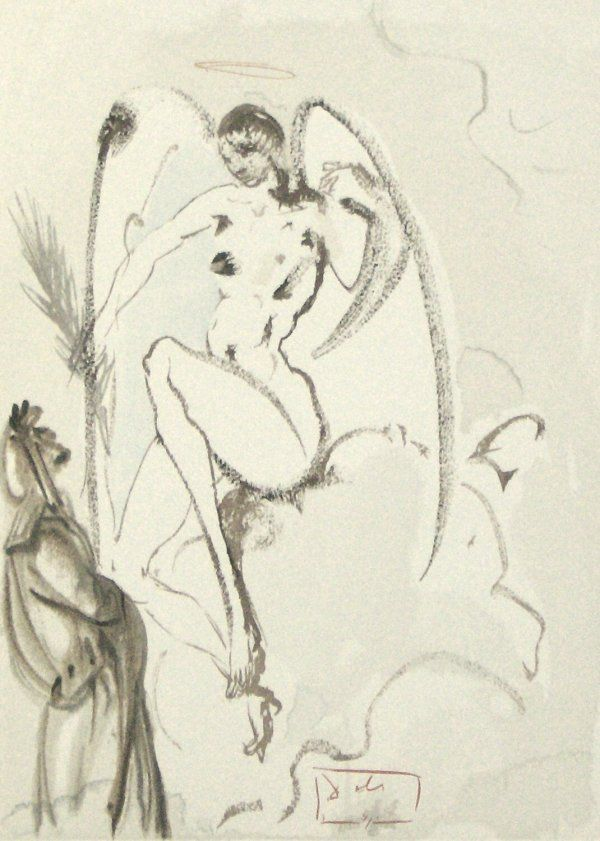 44: SALVADOR DALI ENGRAVING (Spanish 1904-1989)