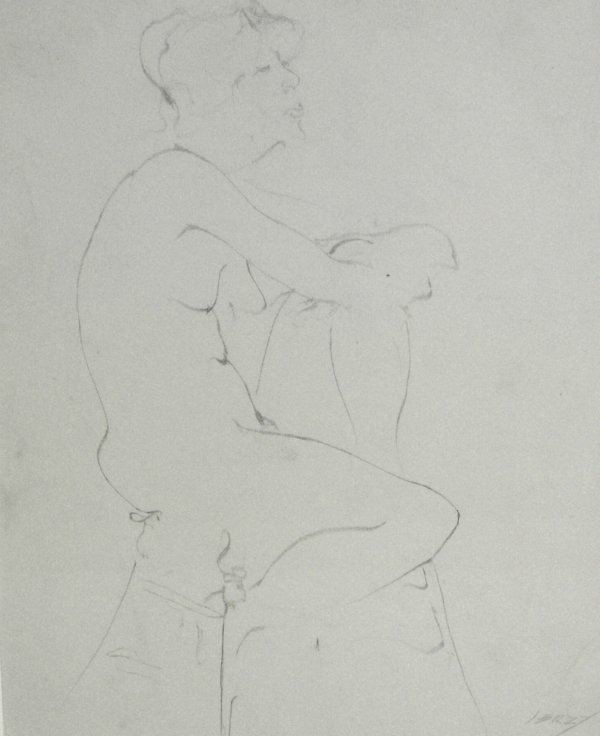 1022: RICHARD JERZY PENCIL (Amer 1945-2001)