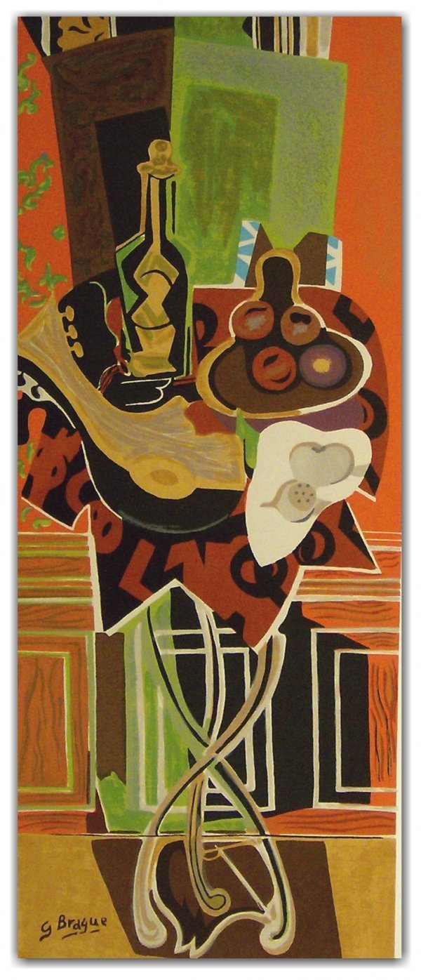 1045: GEORGES BRAQUE SERIGRAPH (French 1882-1963)