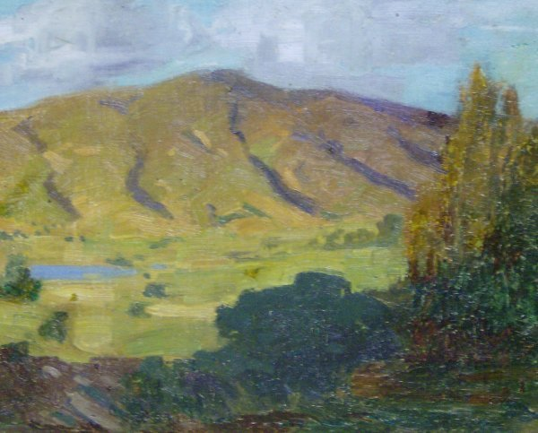 17: FREDERICK BECKER- OIL ON CANVAS (Amer 1888-1974)