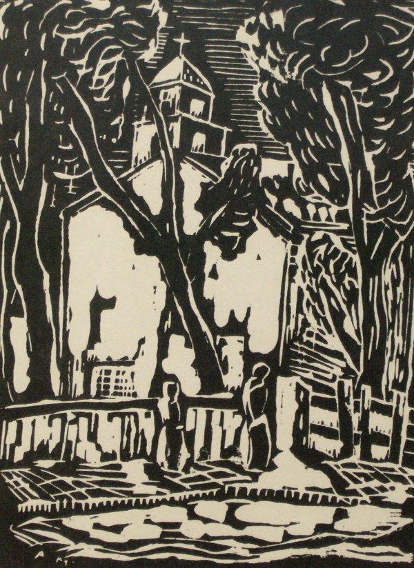 1003: ALFRED MORANG WOODBLOCK (1901-1958)