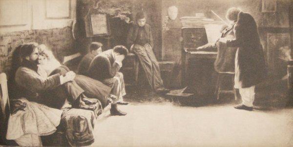 1006: LIONELLO BALESTRIERI - STONE LITHO (Italy 1874-19