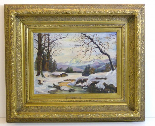 3: DAVID ROBINSON OIL-LANDSCAPE (Amer 1886-?)