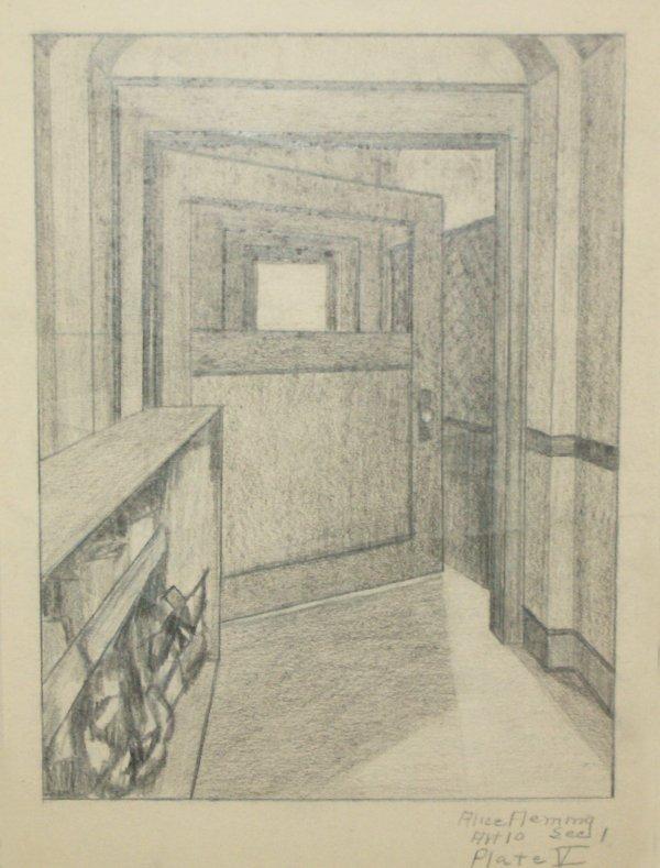 5: ALICE FLEMING PENCIL (Amer 20th Century)