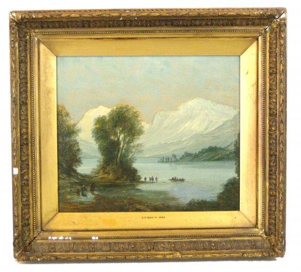 317: JOHN WILSON EWBANK OIL/CANVAS (Amer 1799-1847)