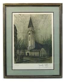 519: BERNARD BUFFET-SIGNED LITHOGRAPH
