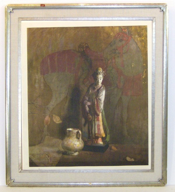 23: HOVSEP PUSHMAN-SIGNED LITHOGRAPH (1877-1966)