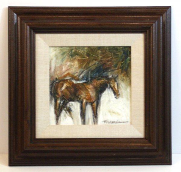 294: JEAN RICHARDSON-HORSE-OIL