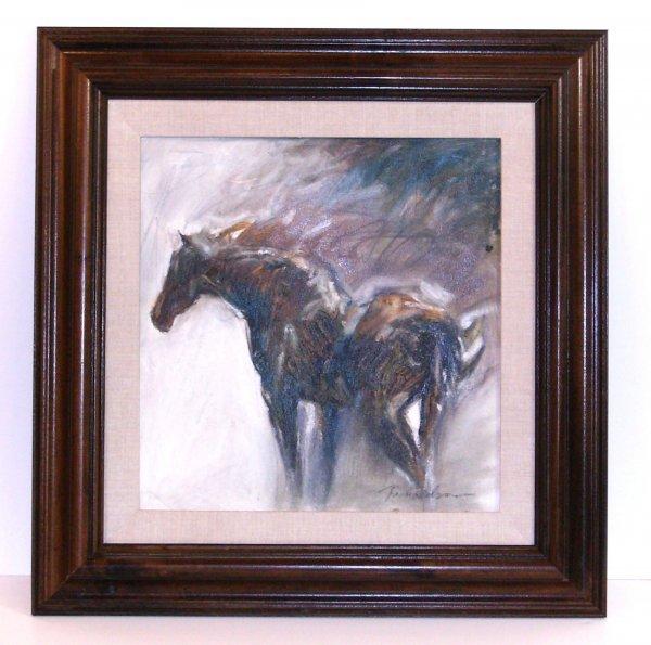 295: JEAN RICHARDSON-HORSE-OIL