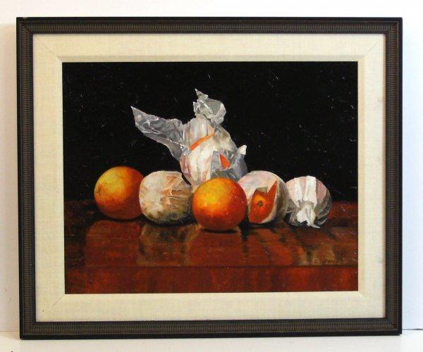 301: GARY SHERMAN-ORANGES-OIL/PANEL
