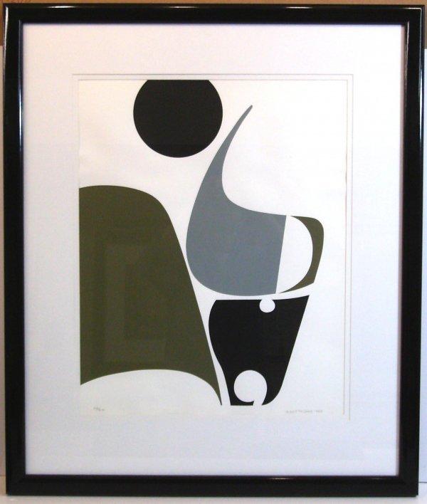 311: ERNST DE JONG-SERIGRAPH (b.1934)