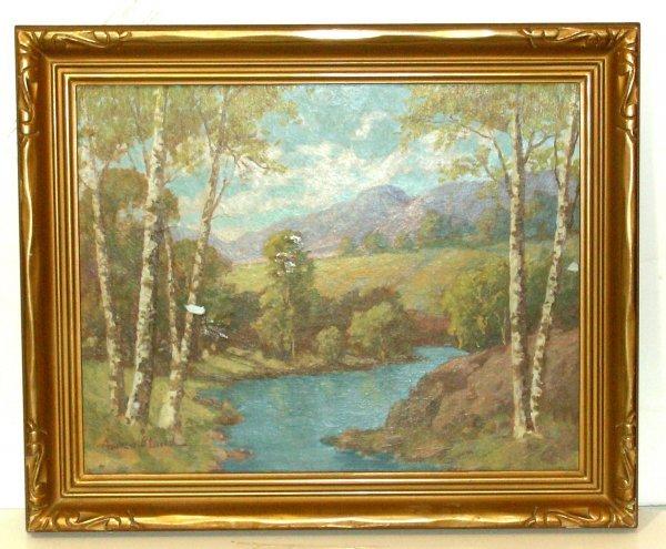 15: ANDREW B. LUND-LANDSCAPE-OIL (Amer 1877-1959)