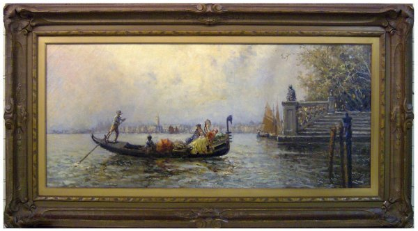 18: NICHOLAS BRIGANTE-VENICE OIL (1895-1989)