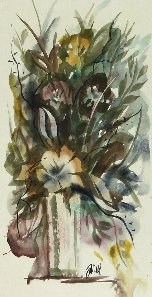 1004: ARIE-FLORAL WATERCOLOR