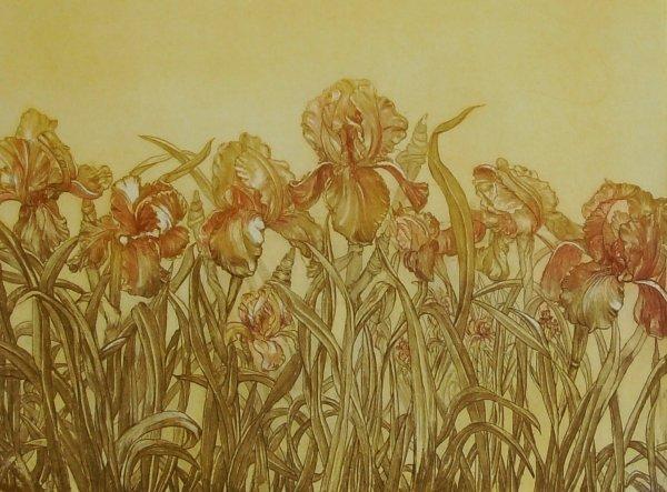 1024: GOLDEN DAY - DAUMAN - SERIGRAPH