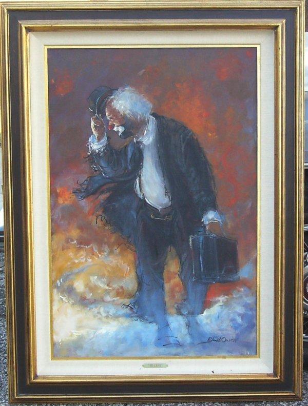 3: Robert Owen-Clown-So Long-Oil (20th Century)