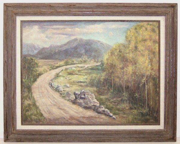 6: Juan Mechaca-Road Home-Oil (20th Cent)