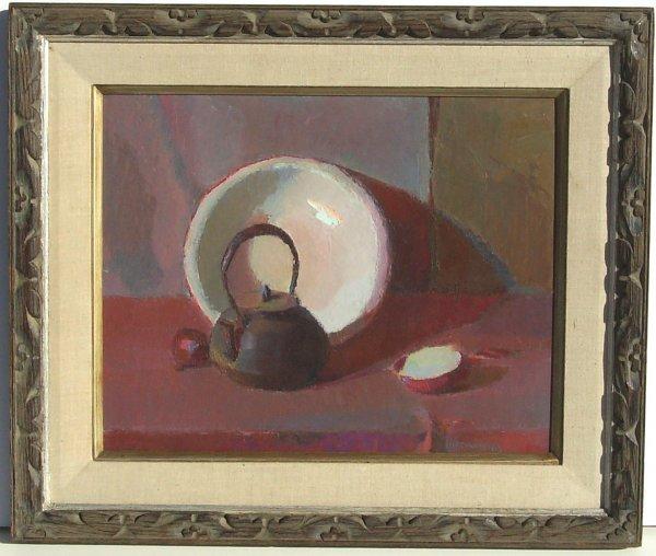 7: Casimir Rutkowski-Teapot Still life
