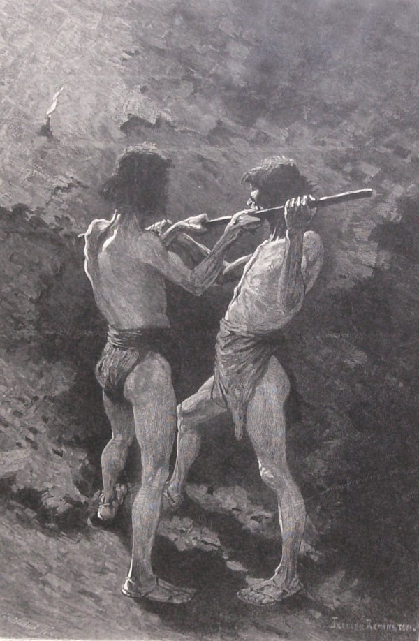 11: Frederic Remington-Mexican Miners (