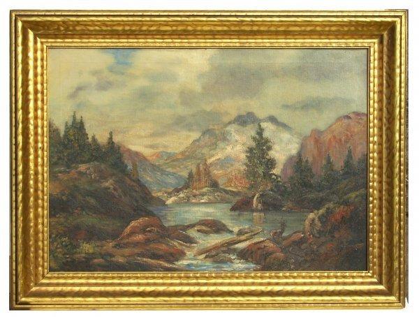 13: Miles Jefferson Early-Yosemite-Oil (Amer 1886-?)