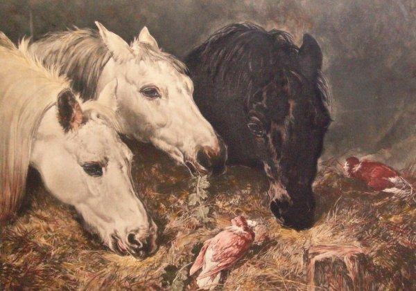 19: Lawrence Josset-Horses-Engraving (Brit 1911-1995)