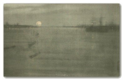 7: JAM Whistler-Noctourne-Old Stone Lithograph