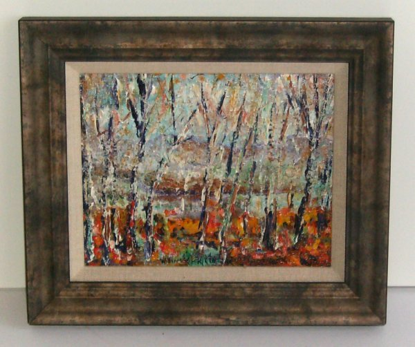 1011: William Vincent - Santa Fe Hills-Acrylic (1939-20
