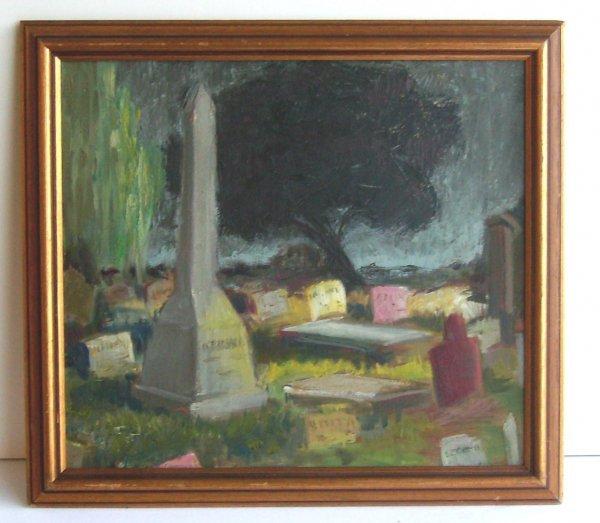 1019: Frederick Becker - Graveyard-Oil (1888 - 1974)