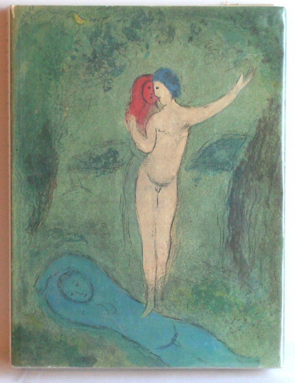1127: Marc Chagall Book - Daphnis & Chloe by Longus