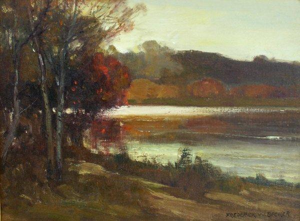6: Frederick Becker - Landscape (1888-1974)