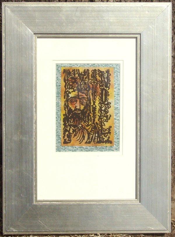 14: George Calvert - Noel - Woodcut Christmas Card (192