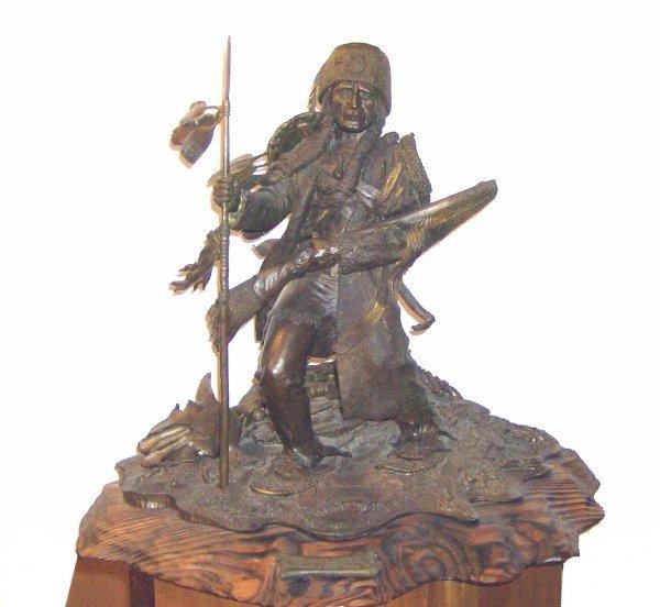 17: Don Baker - Warrior - Bronze (Amer 20th Cent)