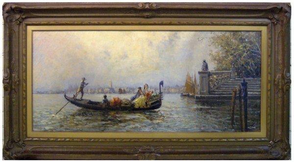 20: Nicholas Brigante -Venice - Oil (1895-1989)