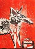 153: Steve Walker - Dog Food - Signed Litho