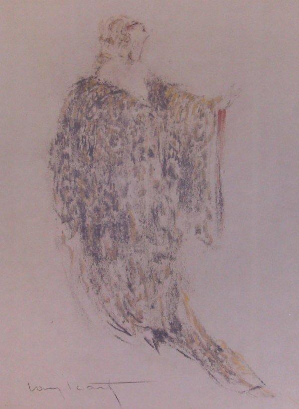 228: Icart - Lmt Ed. Lithograph - Robe (1888-1950)