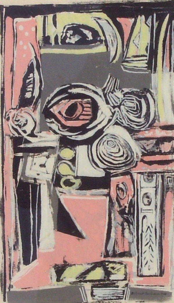 237: Albert Urban - Street Screenprint (1909-1959)