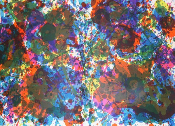 240: Sam Francis - Fresh Air Abstract (b.1923)