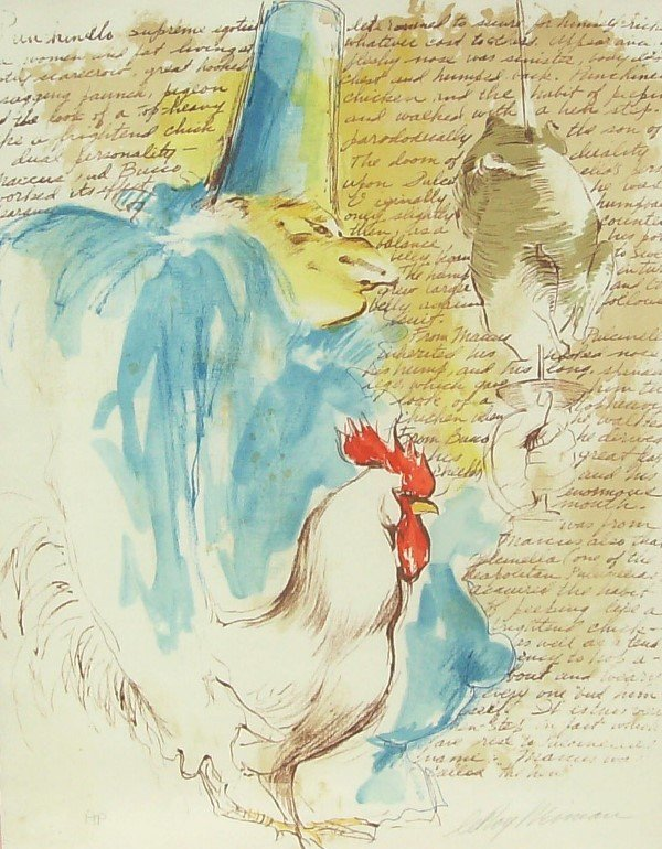 6: Leroy Neiman - Chef - Signed Serigraph (1926)