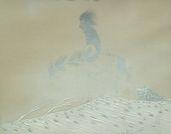 7: Big Bow - Taos Winter Tempera (1914-1988)