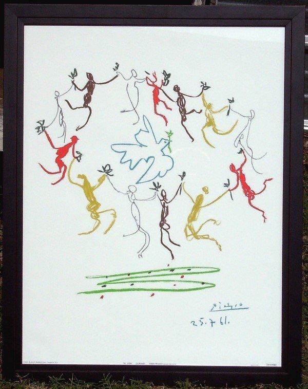 19: Picasso - La Ronde - Serigraph (1881-1973)